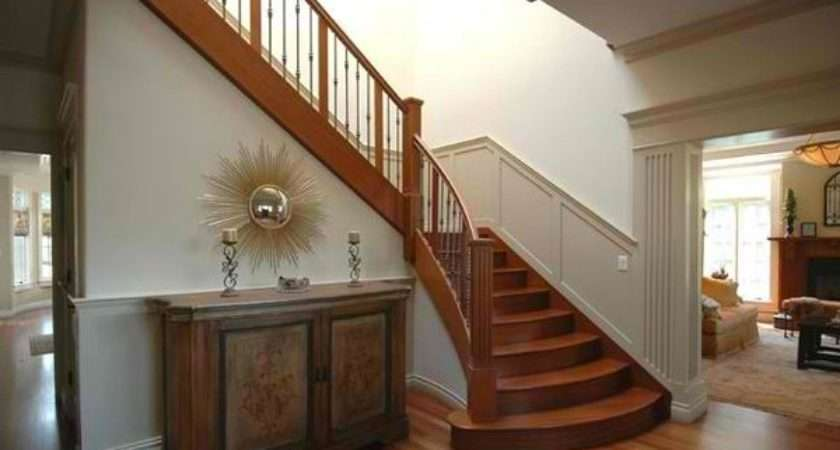 Attractive Wooden Staircase Design Home Lover