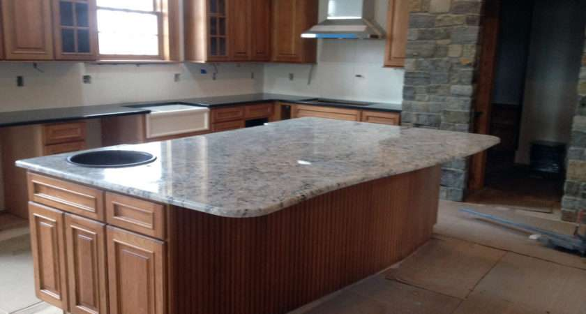 Average Thickness Granite Countertops Awesome White Ice