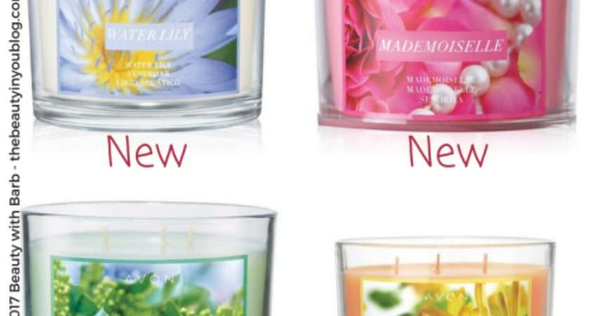 Avon Garden Party Candles New Water Lily Mademoiselle