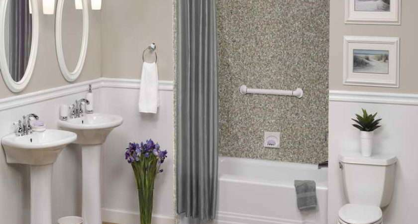 Awesome Bathroom Wall Tile Designs Gray