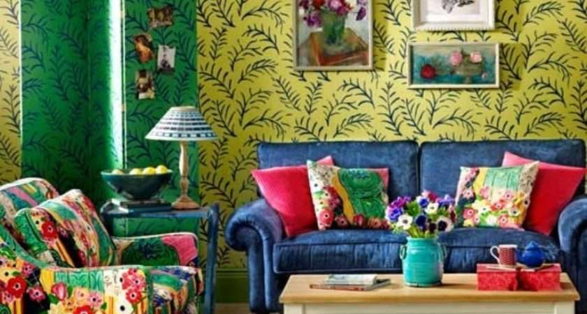 Awesome Bohemian Living Room Design Ideas