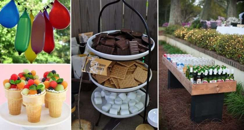 Awesome Ideas Throwing Best Garden Party
