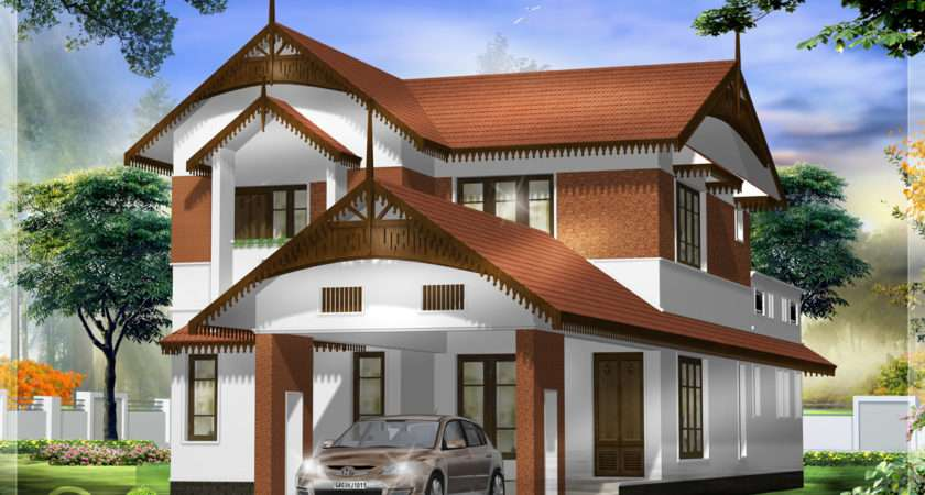 Awesome Kerala Style Home Architecture