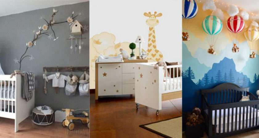 Baby Girl Boy Nursery Ideas Confetti