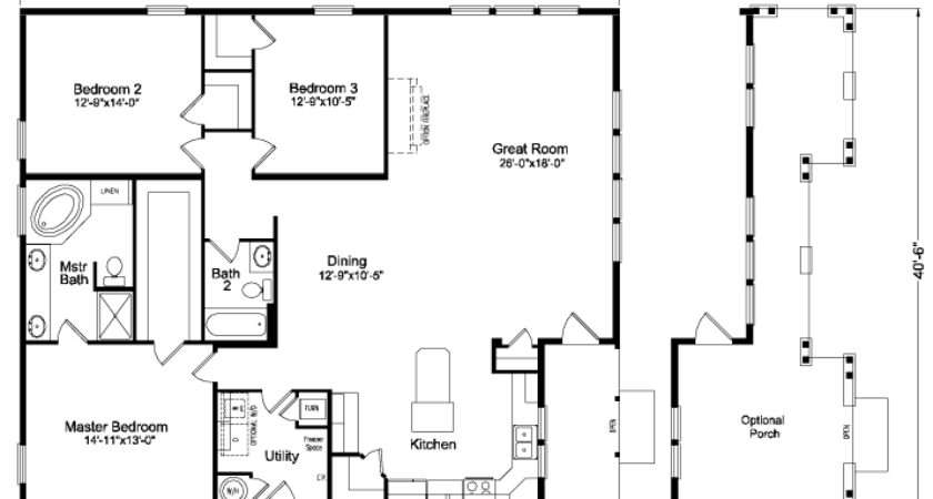 Bachelor Home Floor Plan Manufactured Modular