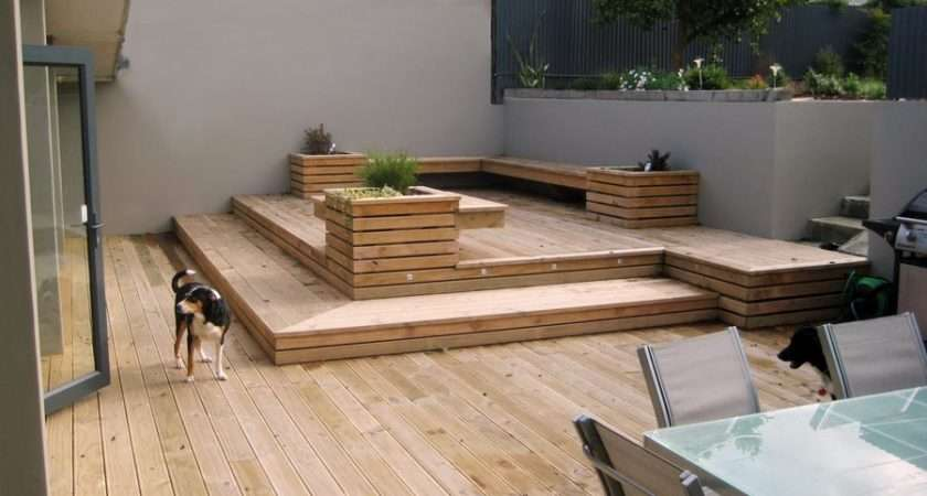 Backyard Deck Designs Ideas Patio Space Decking Timber