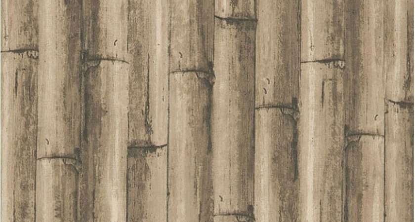 Bamboo Pattern Discount Wallcovering