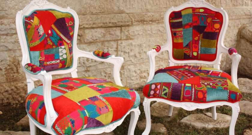 Banjara Patchwork Chairs Newest Creations Mariam Ajaj