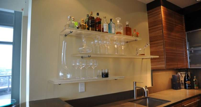 Bar Shelves Glass