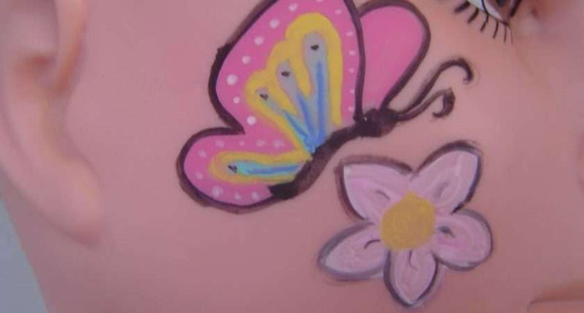 Barbie Facepainting Easy Face Painting Ideas