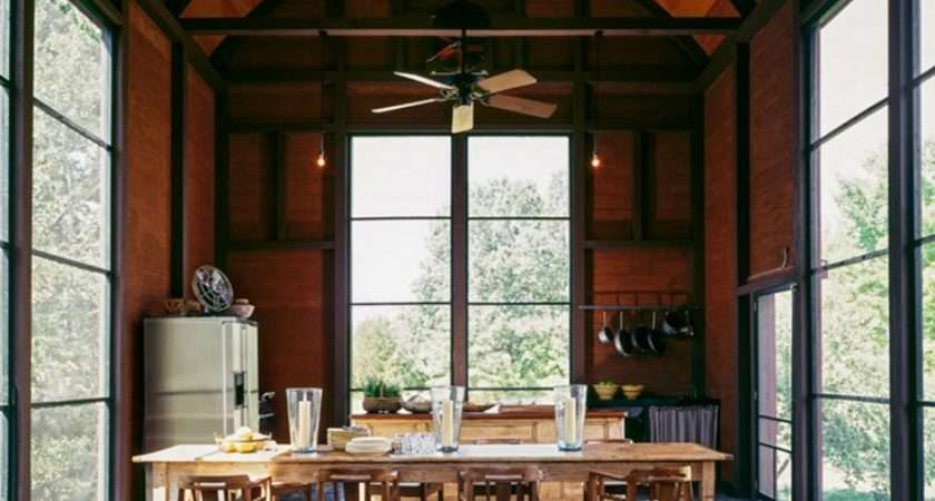 Barn Living Rooms Dream Kitchen Designs Rustic