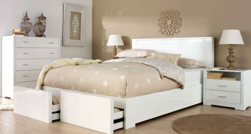 Basics Using White Bedroom Furniture Interior
