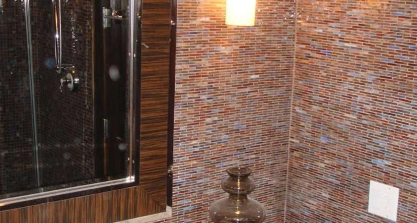 Bath Wall Tile Grasscloth