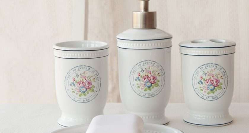 Bathroom Decor Accessories Shabby Chic