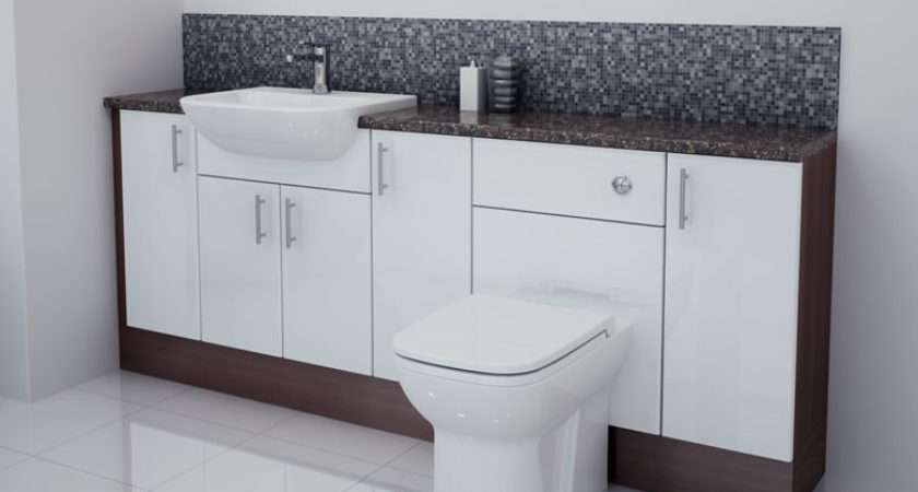 Bathroom Fitted Furniture Products White