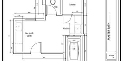 Bathroom Floor Plan Ideas Bedroom