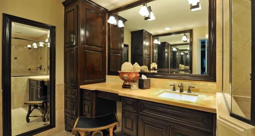 Bathroom French Country Vanity Design Ideas