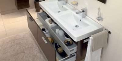 Bathroom Furniture Subway Basin Central Line Maccasser Unit