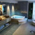 Bathroom Makeover Into Home Spa Decorative