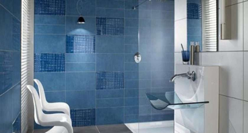 Bathroom Photos Modern Blue Tile Ideas