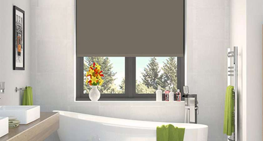 Bathroom Roller Blinds Made Measure
