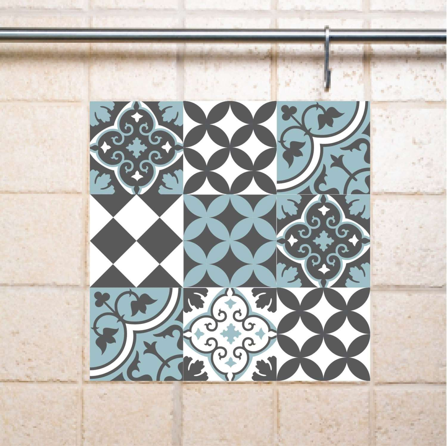 Bathroom Tile Decal Stickers Compilation