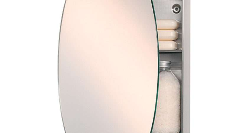 Bathstore Oval Mirror Concealed Cabinet Flickr Sharing