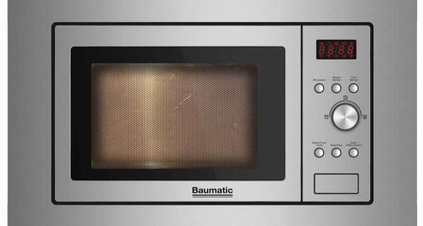 Baumatic Bmig Integrated Microwave Oven Stainless