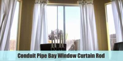 Bay Window Curtains Rods