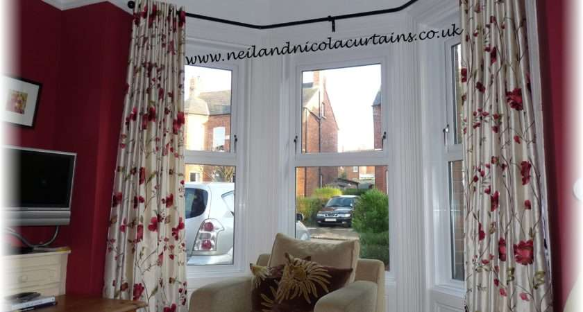 Bay Window Measure Curtains