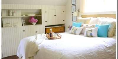 Beach Themed Bedroom Bedrooms Blue Green Lavender Accents