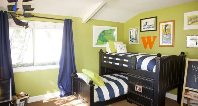 Beachy Whimsical Surfboy Bedroom Anthology Interiors