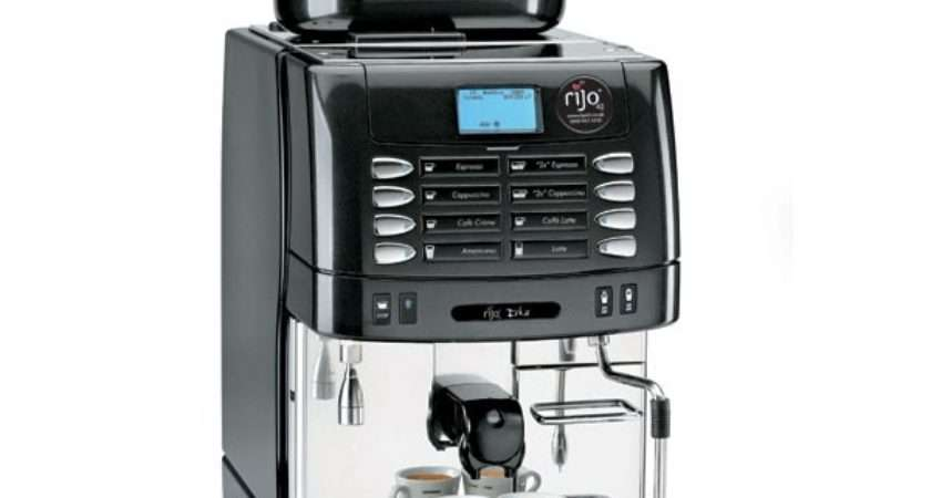 Bean Cup Coffee Machines Auto Steam Rijo