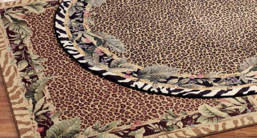 Beautiful Animal Print Rugs Innovative Design