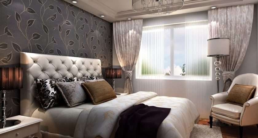 Beautiful Bedroom Curtains Designs Decorating