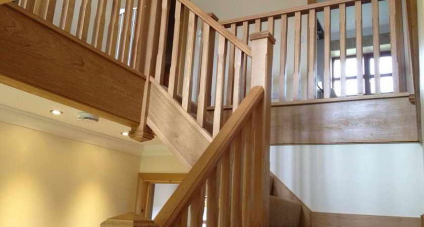 Beautiful Bungalow Design Wood Stair Spindles Hall