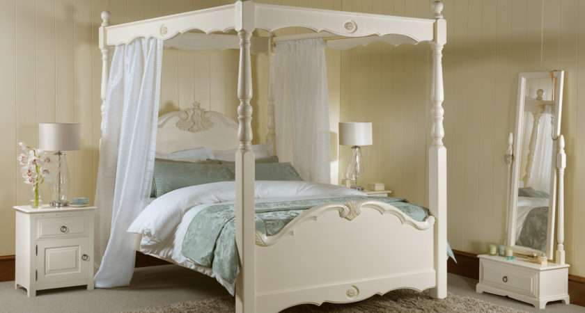 Beautiful Canopy Bed Design Ideas Curtains