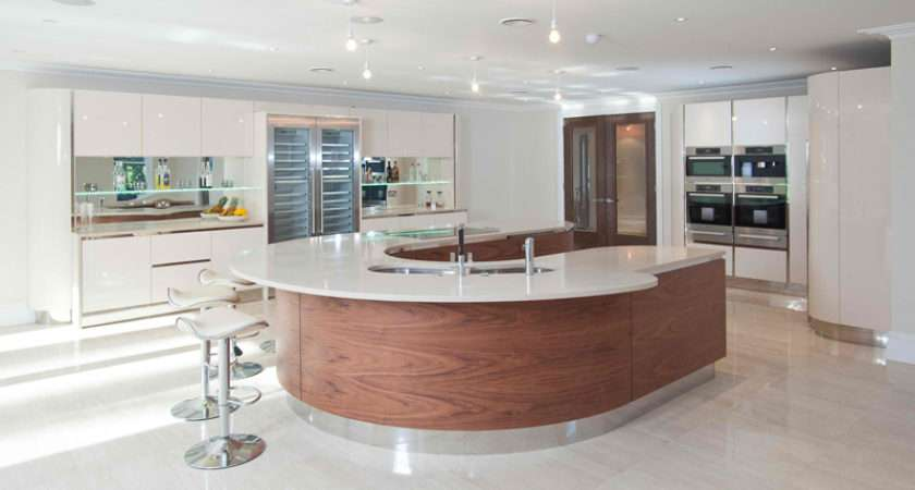 Beautiful Curved Kitchen Bars Home Design Lover