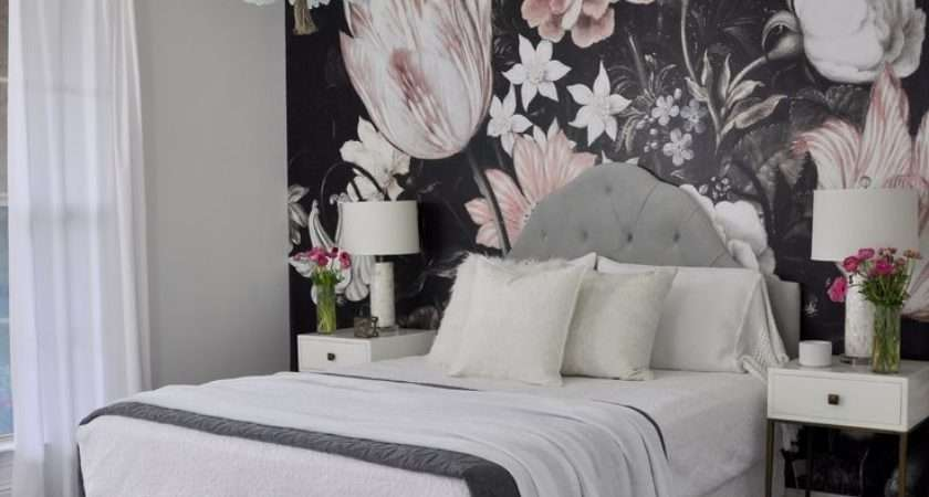 Beautiful Guest Bedroom Floral