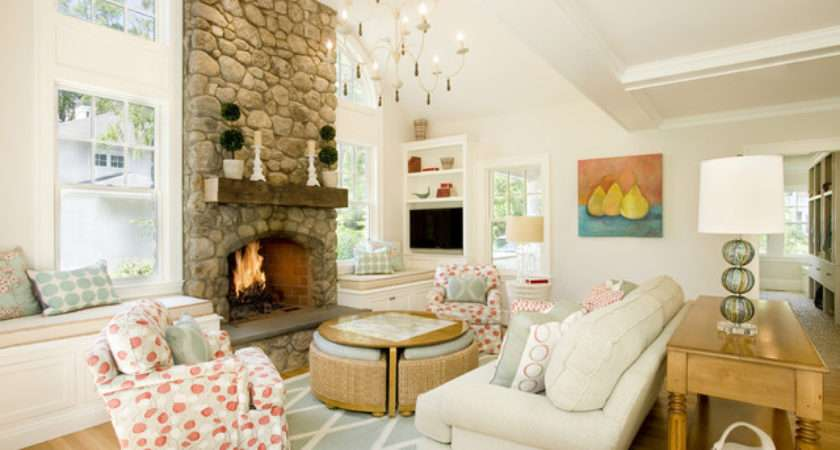 Beautiful Home Wellesley Mass Traditional Living