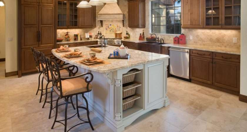 Beautiful Kitchen Island Table Designs Housely