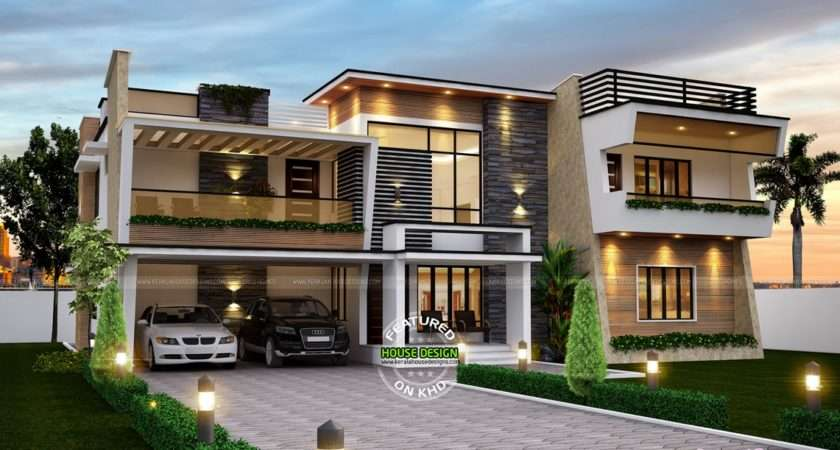 Beautiful Luxurious Contemporary House Home Design