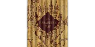 Beautiful Print Marauder Map Harry Potter Window