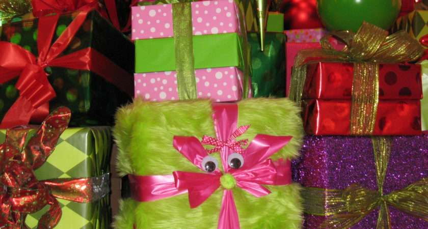 Beautifully Wrapped Christmas Presents Imgkid