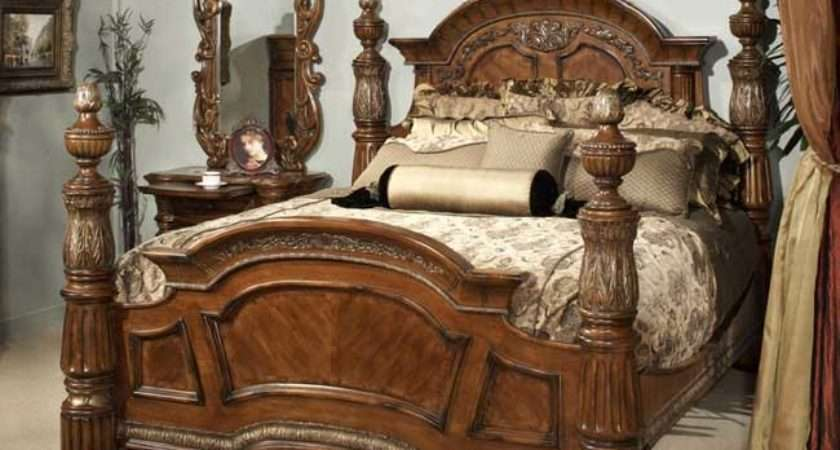 Bed Frames Solid Teak Four Poster Style Designs Indonesian
