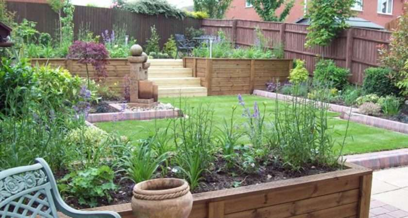 Bed Gardens Ideas Boxes Planters Garden Sloped