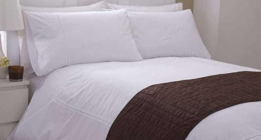 Bed Runner Chocolate Brown