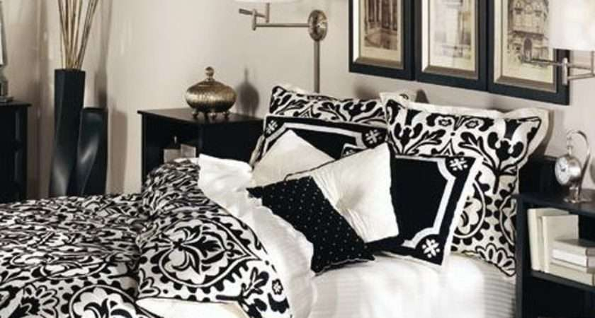 Bedroom Beautiful Black White Master Design