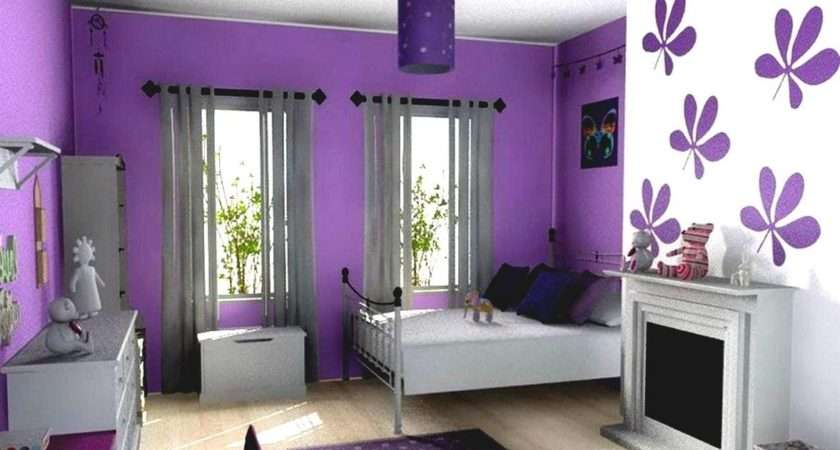 Bedroom Colors Young Women Creative Home Decoration