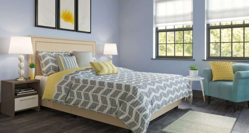 Bedroom Cool Color Combination Decor Ideas